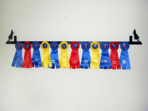 Showoff Ribbon Rack - Barrel Racer - Wall Rack