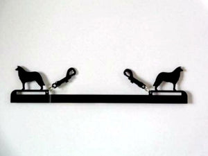 Showoff Ribbon Rack - Border Collie - Kennel Rack