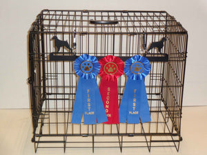 Showoff Ribbon Rack - Brittany - Kennel Rack