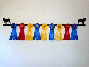 Showoff Ribbon Rack - Bulldog - Wall Rack