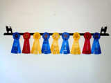 Showoff Ribbon Rack - Chihuahua - Wall Rack