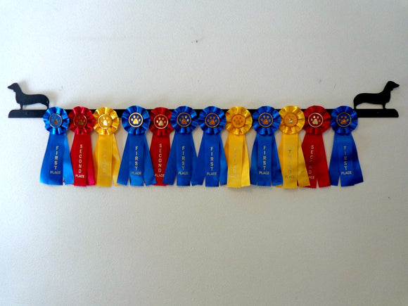 Showoff Ribbon Rack - Dachshund - Wall Rack
