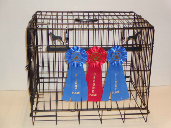 Showoff Ribbon Rack - Doberman - Kennel Rack