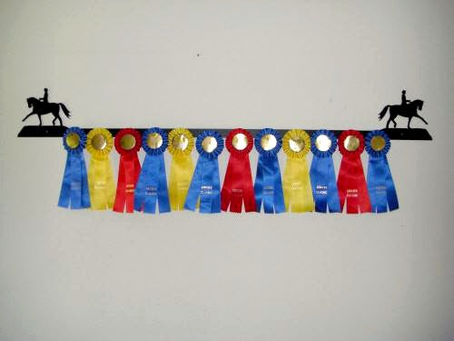 Showoff Ribbon Rack - Dressage - Wall Rack