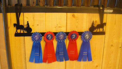 Showoff Ribbon Rack - Driving Meadowbrook Cart