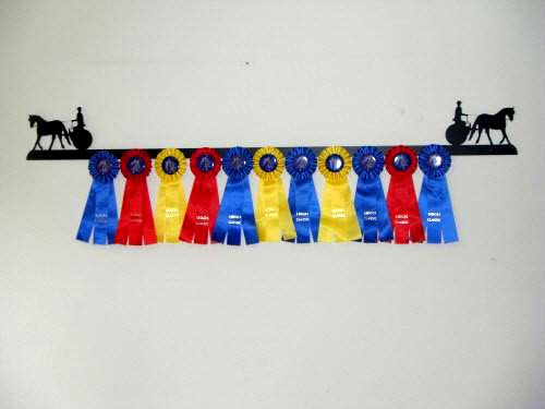 Showoff Ribbon Rack - Driving Meadowbrook Cart - Wall Rack