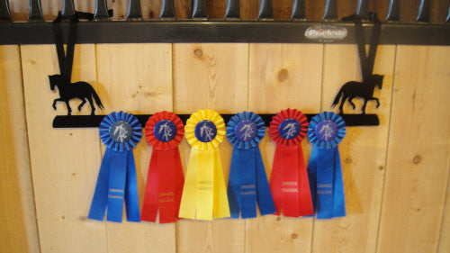 Showoff Ribbon Rack - Fresian - Stall Rack