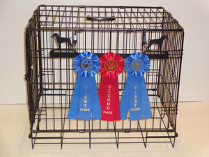 Showoff Ribbon Rack - German Shorthair Pointer - Kennel Rack