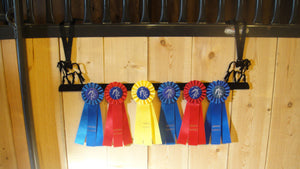 Showoff Ribbon Rack - Gypsy Vanner - Stall Rack