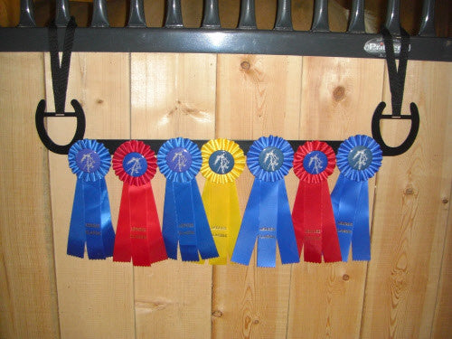 Showoff Ribbon Rack - Horse Shoe - Stall Rack