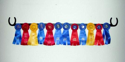 Showoff Ribbon Rack - Horse Shoe - Wall Rack