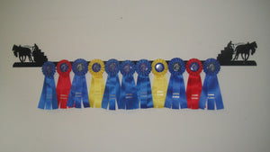 Showoff Ribbon Rack - Horsepull - Wall Rack
