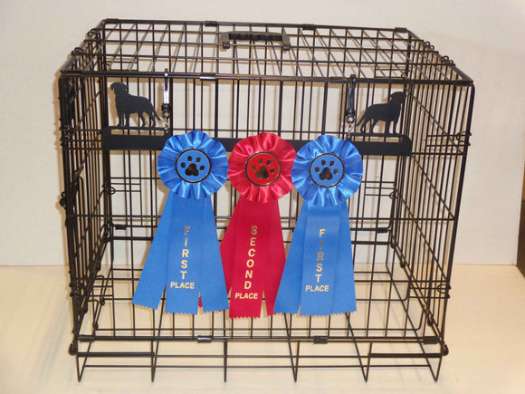Showoff Ribbon Rack - Labrador - Kennel Rack