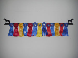 Showoff Ribbon Rack - Mini Horse - Wall Rack