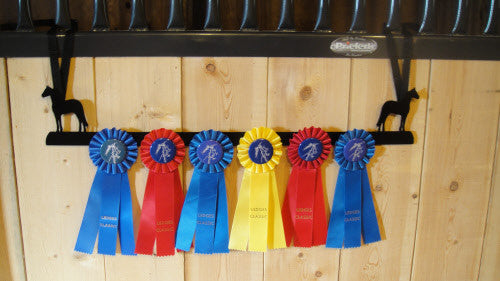 Showoff Ribbon Rack - Morgan - Stall Rack