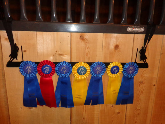 Showoff Ribbon Rack - Pole Bending - Stall Rack