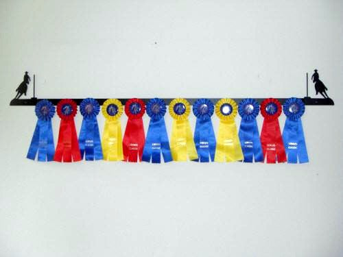 Showoff Ribbon Rack - Pole Bending - Wall Rack