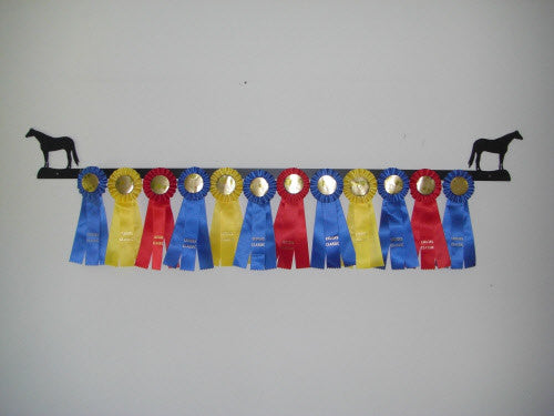 Showoff Ribbon Rack - Quarter Horse - Wall Rack
