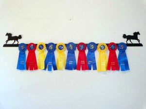 Showoff Ribbon Rack - Rocky Mountain Horse - Wall Rack