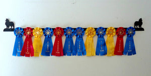 Showoff Ribbon Rack - Shetland Sheepdog - Wall Rack