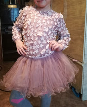 """The Madeline"" Lace Flower Girl and Princess Dress"