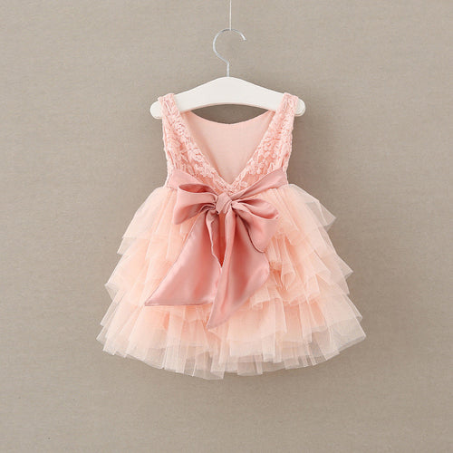 Bow Flower Girl Dress