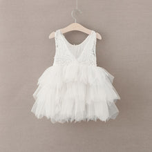 """The Alicia"" Flower Girl Dress (White)"