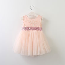 """The Stella"" Bow Lace Flower Girl Dress"