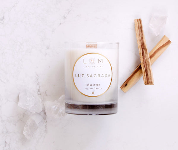 Luxury Soy Wax Candles | Luz Sagrada