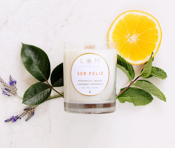 Luxury Soy Wax Candles | Ser Feliz