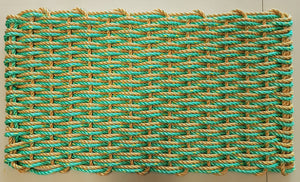 Lobster Rope Mats - 2 color, dual weave