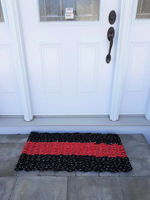 Lobster Rope Mats - 2 color, striped