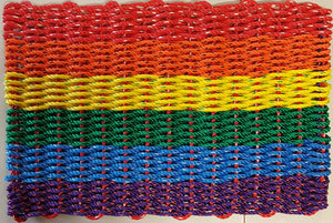 Lobster Rope Mats - Pride version