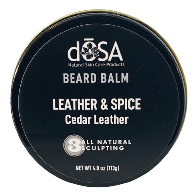 Leather & Spice Moisture Lock Beard Balm