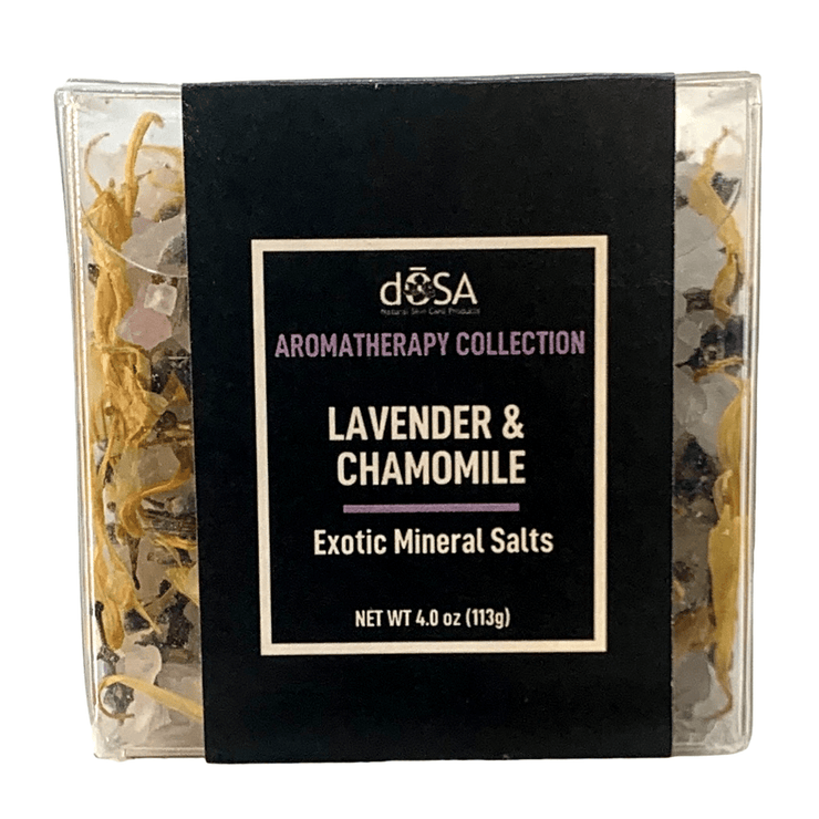 Cube Lavender & Chamomile Shea Infused Mineral Salts