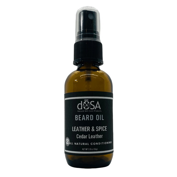 Leather & Spice Conditioning Beard Oil