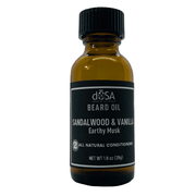 Sandalwood & Vanilla Conditioning Beard Oil