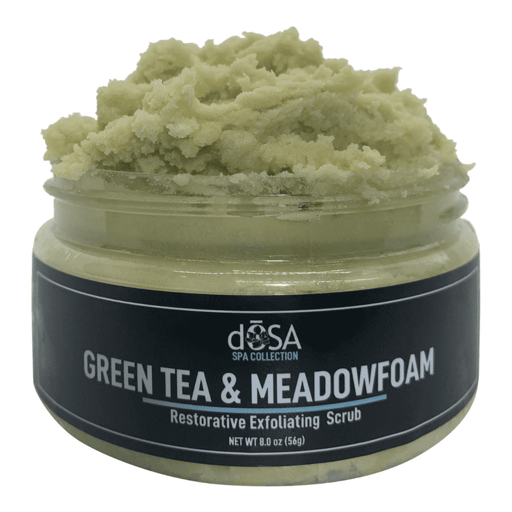 SPA COLLECTION: Green Tea & Meadowform Seed Regenerating Exfoliating Scrub
