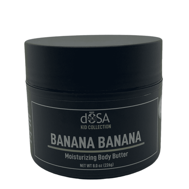 Bonkers for Banana Moisturizing Body Butter - dOSA Natural Body Care Products