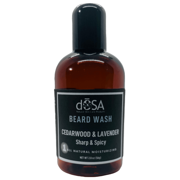 Cedarwood & Lavender Moisturizing Beard Wash