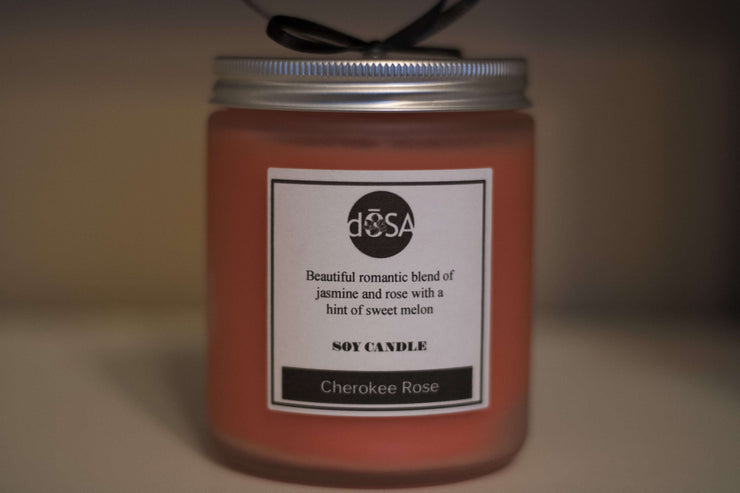 Cherokee Rose Soy Scented Candle