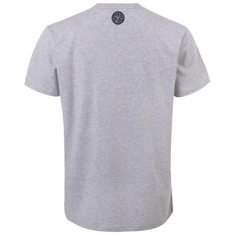 "Ανδρική Μπλούζα T-Shirt ""Autocation"" Leaf-GREY-M-kmaroussis.gr"