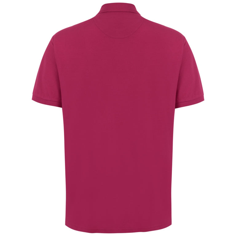 "Ανδρική Μπλούζα Polo ""King's Days"" Battery-FUCHSIA-4XL-kmaroussis.gr"
