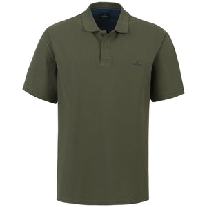 "Ανδρική Μπλούζα Polo ""King's Days"" Battery-KHAKI-4XL-kmaroussis.gr"