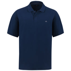 "Ανδρική Μπλούζα Polo ""King's Days"" Battery-NAVY-4XL-kmaroussis.gr"