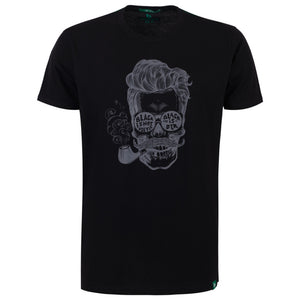 "Ανδρική Μπλούζα T-Shirt ""Black is Brutal"" Battery-BLACK-M-kmaroussis.gr"