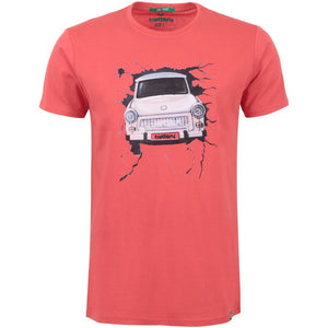 "Ανδρική Μπλούζα T-Shirt ""My New Car"" Battery-RED-M-kmaroussis.gr"