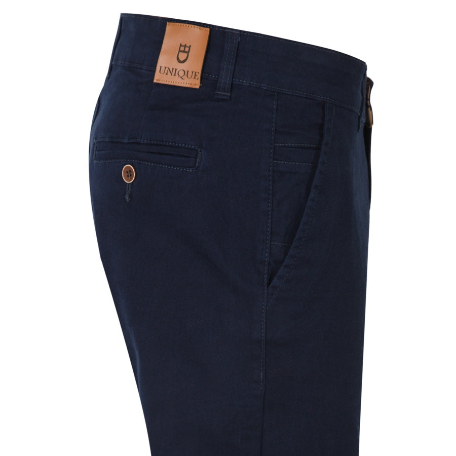 "Ανδρικό Παντελόνι Chinos ""Villa Trap"" Unique-DARKBLUE-32-kmaroussis.gr"
