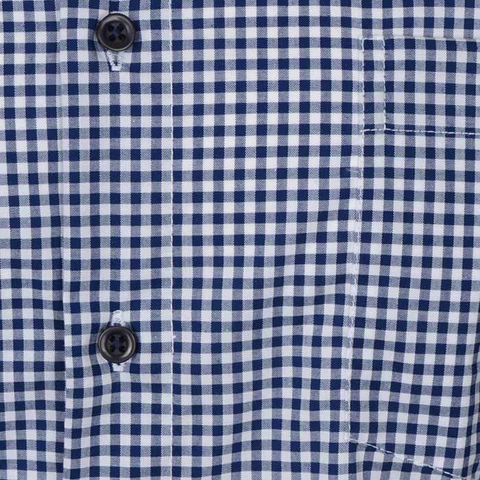 "Ανδρικό Πουκάμισο ""Minimum Plaid"" Redmond-DARKBLUE-M-kmaroussis.gr"