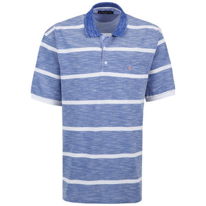 "Ανδρική Μπλούζα Polo ""Candox Fire"" Pol Paulo-BLUE-3XL-NO6-kmaroussis.gr"